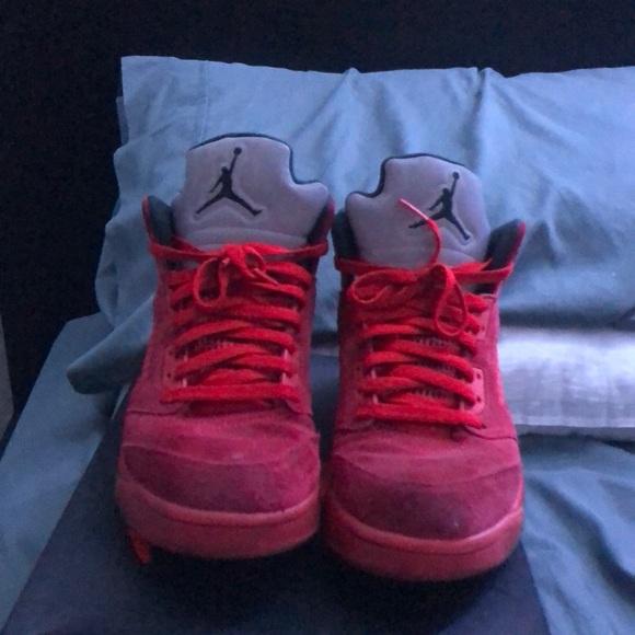 Jordan Other - jordan 5 'red suede'